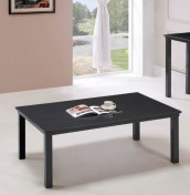 Salerno Charcoal Grey Glass Top Coffee Table
