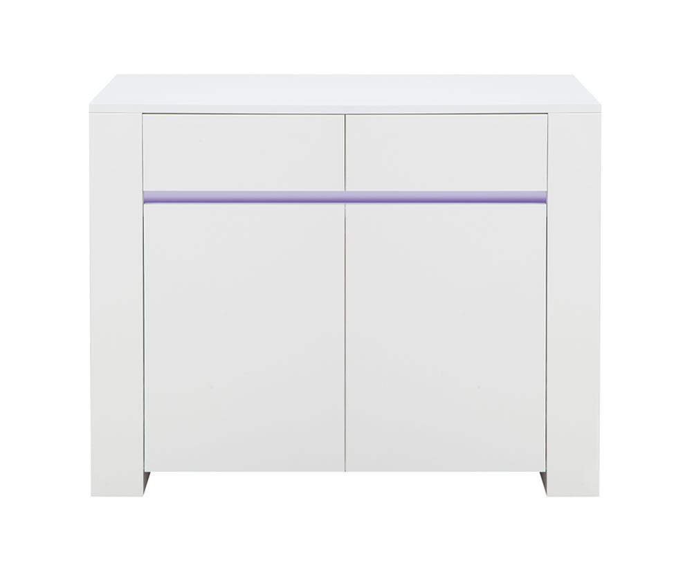 Bordeaux White High Gloss Sideboard