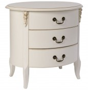 Bourmont 3 Drawer Bedside Chest