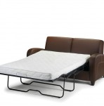 Forli Faux Leather Pull-Out Sofa Bed