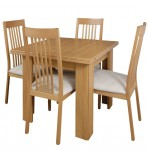 Nottingham Oak Small Extending Dining Set