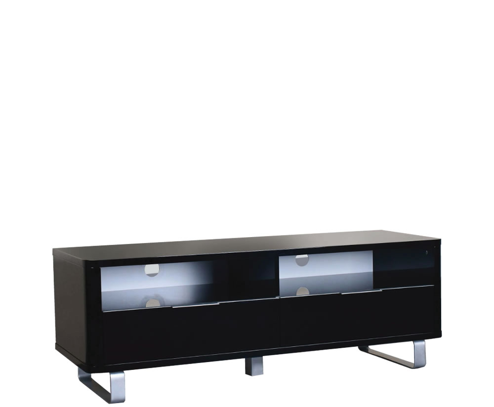 Mya Black High Gloss Tv Unit Uk Delivery