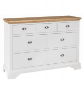 Hampstead Two-Tone 3+4 Drawer Chest