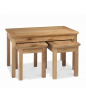 Provence Oak Nest Of Coffee Tables