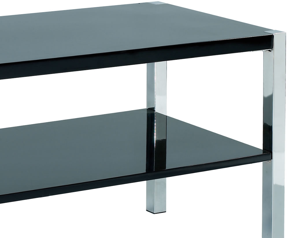 Theo Black High Gloss Tv Stand