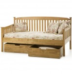 Eleanor Hevea Oak Day Bed - Optional Storage Drawers
