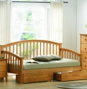 J Maple Day Bed - Optional Storage Drawers