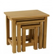 Turner Oak Nest Of Tables
