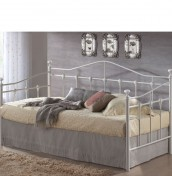Torino Metal Off-White Day Bed