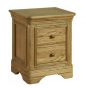 Picardie Oak Bedside Chest