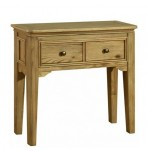 Picardie Oak Console Table