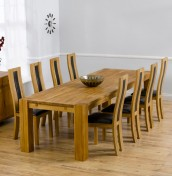 Murcia Oak Extending Dining Table and Chairs