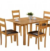 Granada Wooden Folding Top Table and Chairs