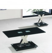 Addax Black Glass Coffee Table