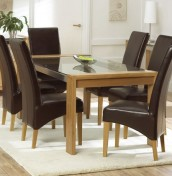 Lucera Oak 200cm Dining Set