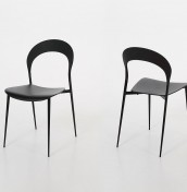 Kalvin Black Dining Chairs