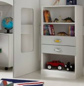 Bailey Childrens Bookcase with Drawers