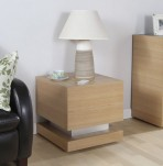 Melezet Oak Lamp Table
