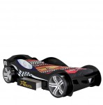 Sleep Racer Black Car Bed