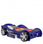 Sleep Racer Blue Car Bed
