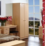 Snowdon 2 Door Tall Narrow Wardrobe