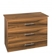 Camrose Walnut 3 Drawer Chest