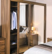 Camrose Mirrored Sliding Wardrobe