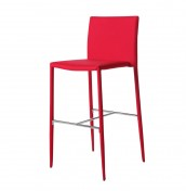 Traven Red Bar Stool
