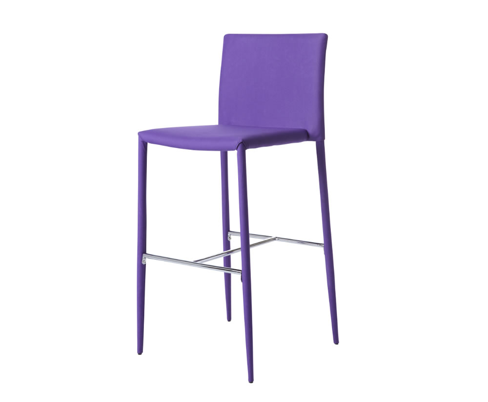 Traven Purple Bar Stool