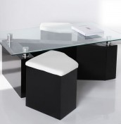 Botlek Black Coffee Table