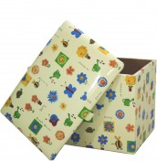 Garden Wipe Clean Toy Box