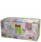 Home Sweet Home Upholstered Toy Box