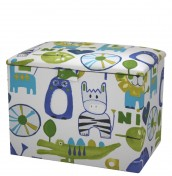 Zooland Childrens Upholstered Toy Box