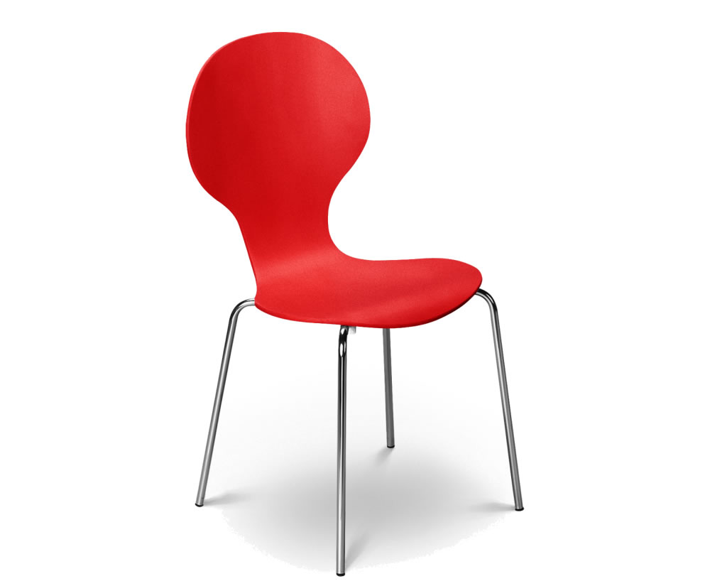 keeler red dining chair