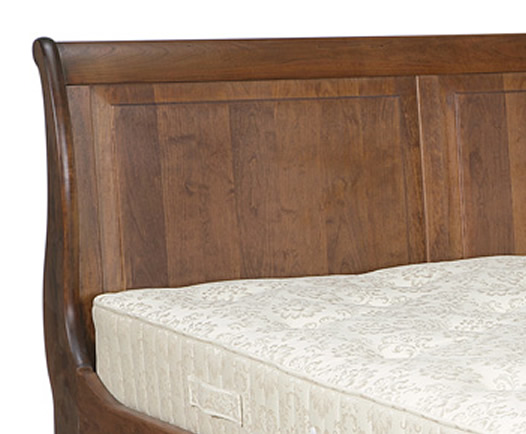 Daventry Bespoke Wooden Low Footend Sleigh Bed
