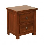 Hudson Cherry Pine Bedside Chest