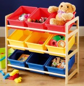 Alfie Boys Tidy Toy Storage Unit