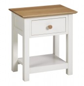 Lilli Dove White Nightstand