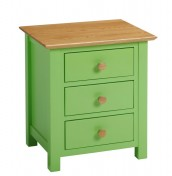 Whitby Coloured Bedside Chest