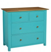 Whitby Coloured 4 Drawer Chest