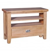Castelli Oak Open TV Stand