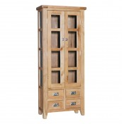 Castelli Oak Small Display Cabinet
