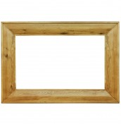 Chaparro Oak Large Wall Mirror