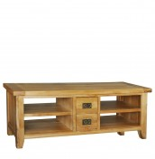 Chaparro Oak Open TV Stand