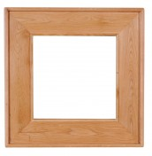 Chaparro Oak Square Wall Mirror