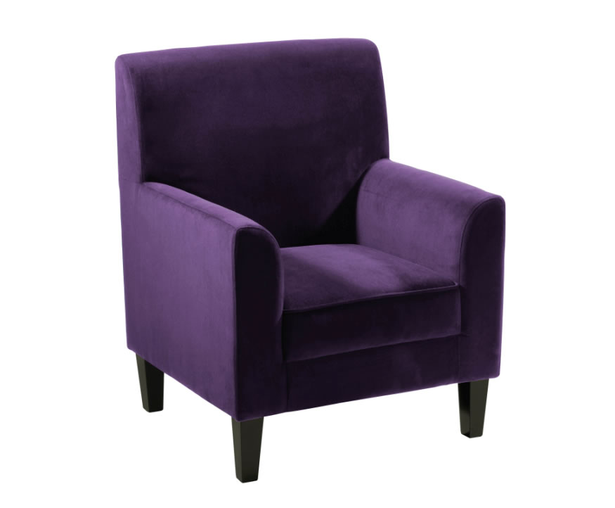 upholstered office chair with Medan Purple Velvet Armchair on High End Workplace Chairs additionally Capri Wood besides Knoll Jehs Laub Wire Lounge Chair And Ottoman moreover Stylish Office Chairs Contemporary And Cool in addition Austin Arhaus c1318617.