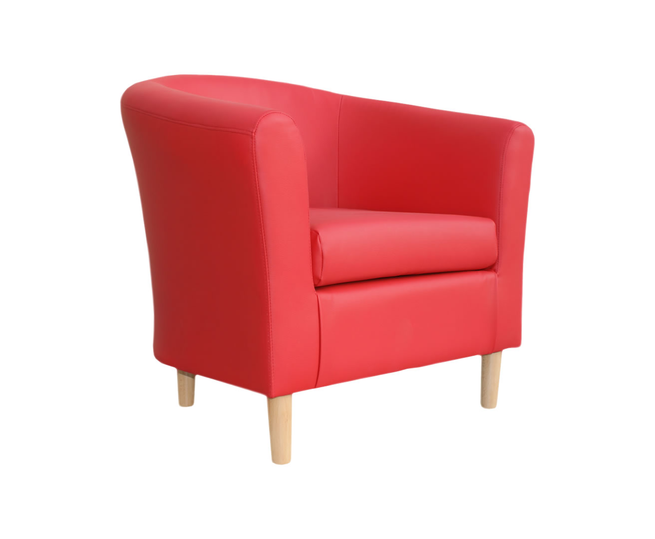 hamlet red faux leather tub chair uk delivery tempo tub chair by seconique red furniture value