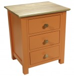 Whitby Mango Orange Bedside Chest *Special Offer*