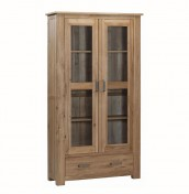 Miller Oak Glazed Display Cabinet