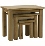 Miller Oak Nest Of Tables
